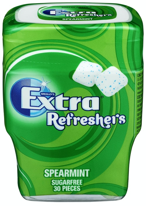Extra Extra Refreshers Spearmint 67 g