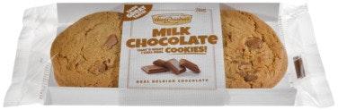 Aunt Mabels Cookie Melkesjokolade 4 stk, 200 g