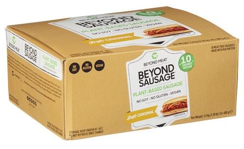Beyond Meat Beyond Vegetarpølser Bratwurst, 10 stk