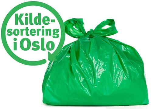 Renovasjonsetaten Oslo Kommune Kildesorteringsposer til matavfall Rull med 40 poser, 1 stk