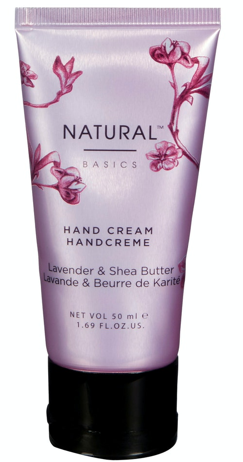Natural Basics Moisturising Hand Cream, Lavender & Shea Butter 50 ml