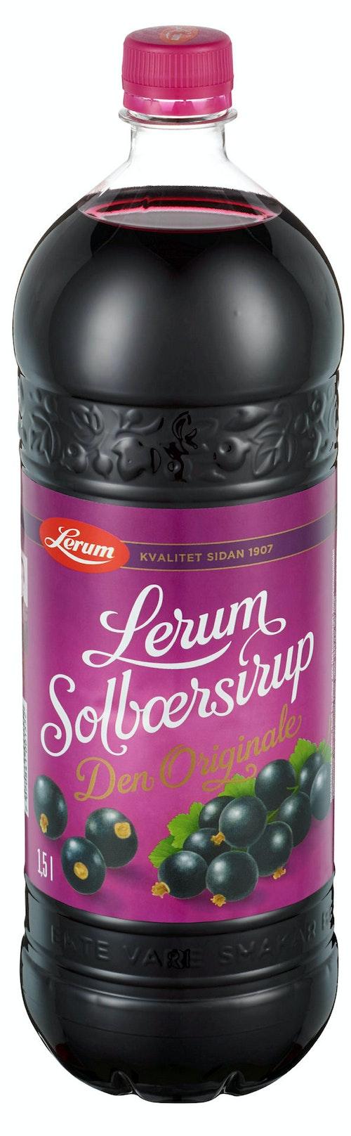 Lerum Lerum Solbærsirup 1,5 l