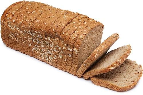 Brødverket Havrebrød Oppskåret, 1 stk
