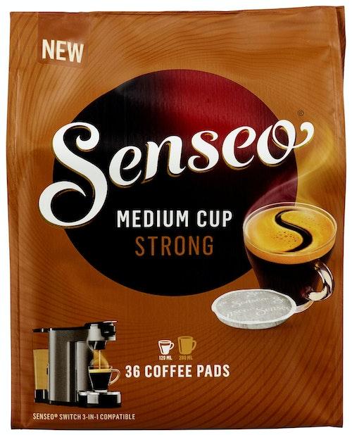 Friele Senseo Strong medium Kapsler, 36 stk