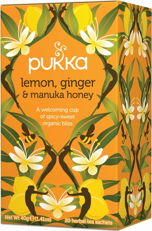 Pukka Pukka Lemon, Ginger & Manuka Honey Tea 20 stk