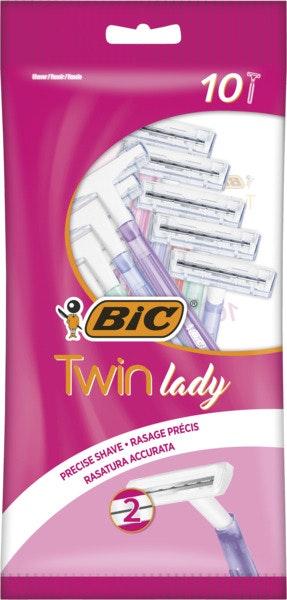 BIC BIC Barberhøvel Twin Lady 10 stk
