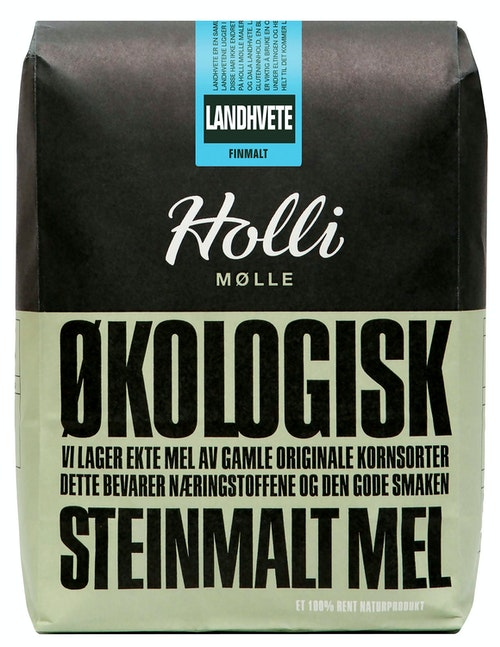 Holli Mølle Økologisk Landhvete Finmalt 1 kg