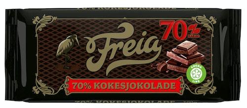 Freia Kokesjokolade 70%  100 g