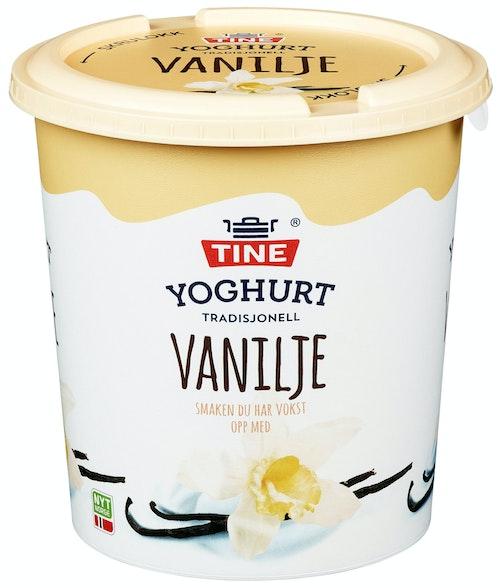 Tine Yoghurt Vanilje 850 g