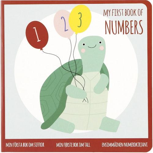 Clas Ohlson Min første bok om siffer 1 stk