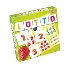 Lotto med tall og frukt
