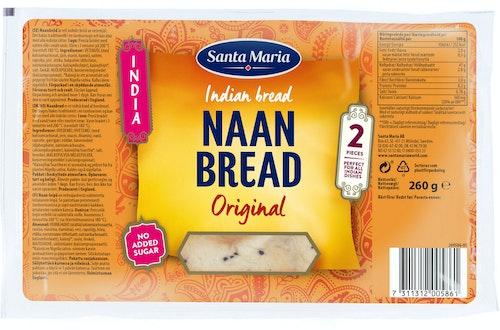 Santa Maria Naan Bread 260 g