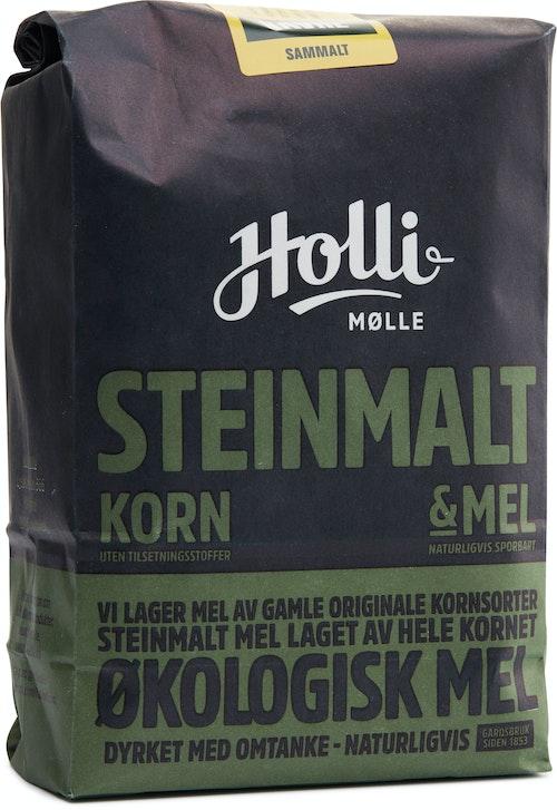 Holli Mølle Økologisk Havre Sammalt Steinmalt, 1 kg