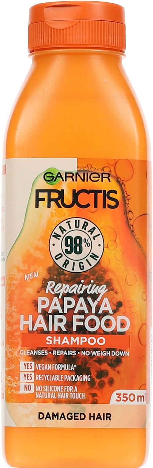 Garnier Fructis Hair Food Papaya Shampo 350 ml