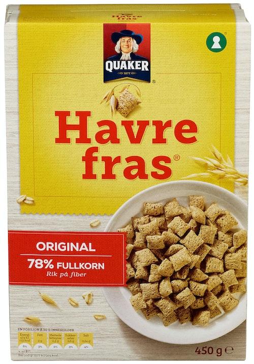 Quaker Havrefras 375 g