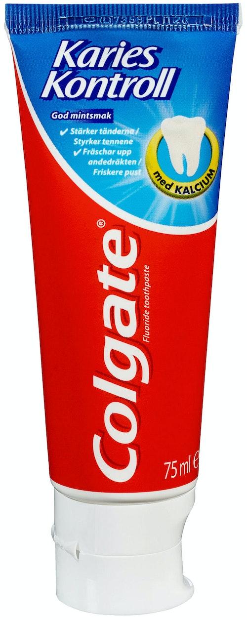 Colgate Tannkrem Karies Kontroll 75 ml