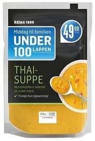 REMA 1000 Thaisuppe 1 kg
