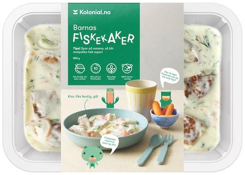 Gastro Kitchen Fiskekakebiter i Hvit saus Fiks ferdig, 2 Porsjoner, 800 g