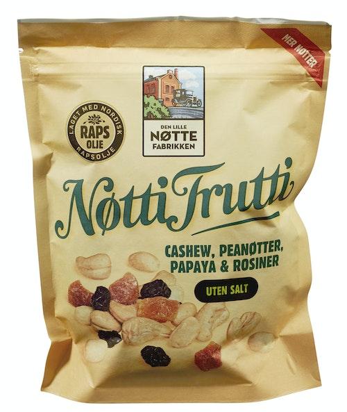 Den Lille Nøttefabrikken Nøtti Frutti Uten Salt, 350 g