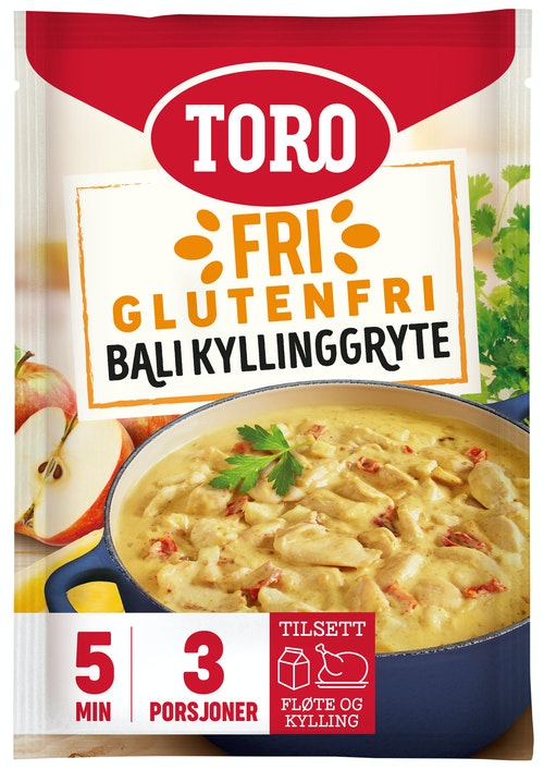 Toro Fri Bali Gryte Glutenfri, 70 g