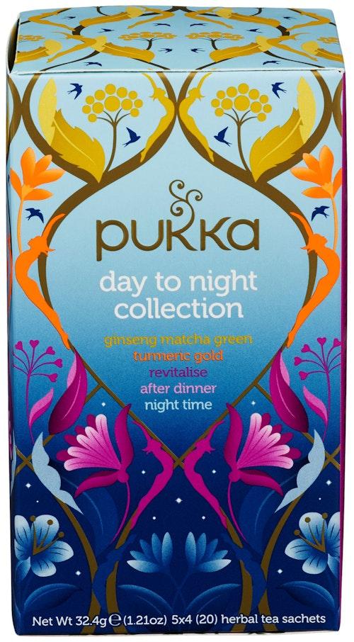 Pukka Day to Night Collection box 20 stk