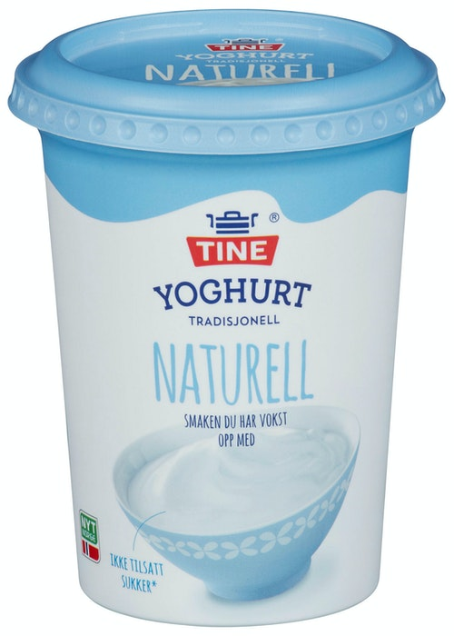 Tine Yoghurt Naturell 500 g