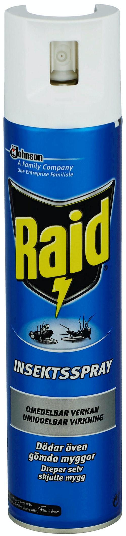 Raid Insektsmiddel Spray 300 ml