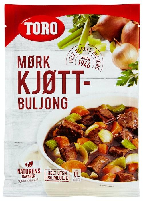 Toro Buljongpulver Mørk Gir 7,5l ferdig buljong, 7,5 l
