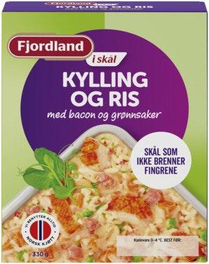 Fjordland Kylling og Ris 330 g