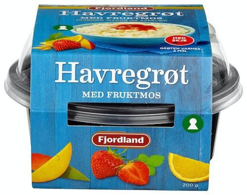 Fjordland Havregrøt Med Fruktmos 200 g