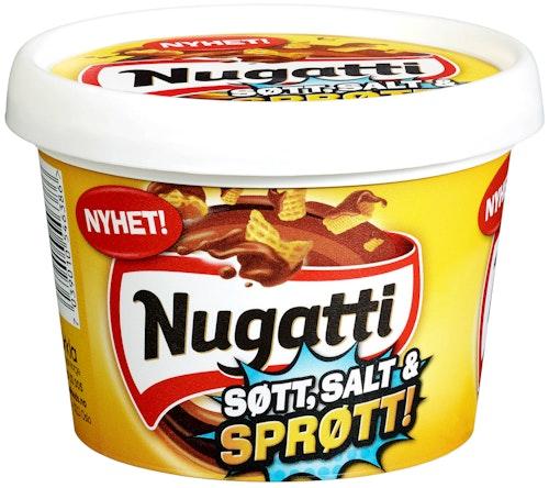 Stabburet Nugatti Søtt, Salt og Sprøtt 325 g