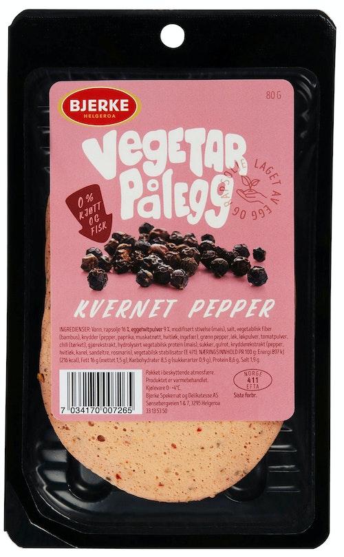 Bjerke Spekemat Vegetarpålegg Pepper 80 g