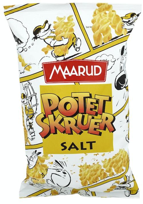Maarud Potetskruer Salt 90 g
