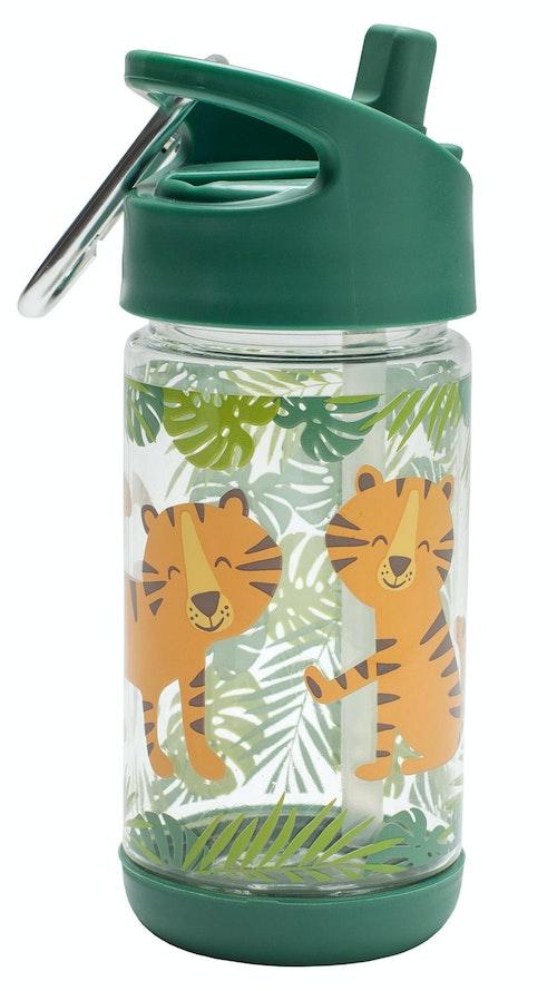 Sugarbooger Flip & Sip drikkeflaske med tiger 1 stk