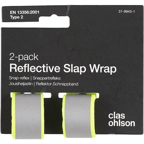 Clas Ohlson Refleks snap gul 2 stk, 1 stk
