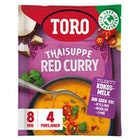 Thaisuppe Red Curry