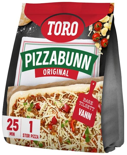 Toro Pizzabunn Familiepakke 370 g