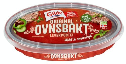 Gilde Ovnsbakt Leverpostei Original, 190 g