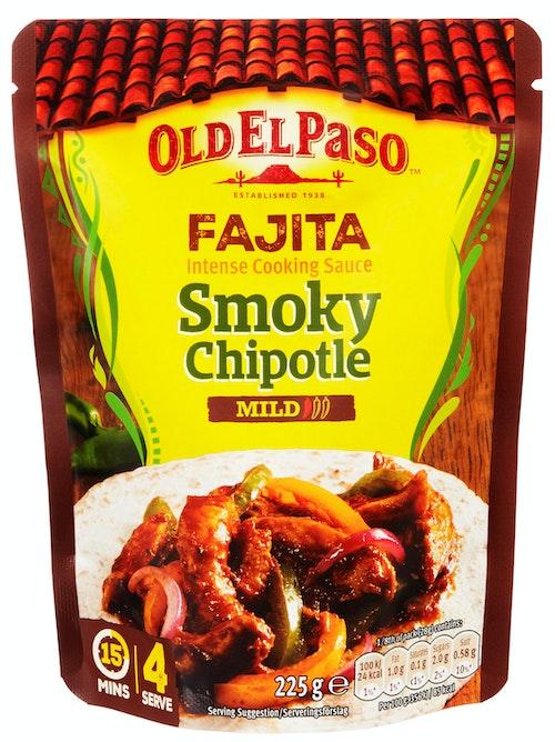 Old El Paso Fajita Cooking Sacue Smoky Chipotle 225 g