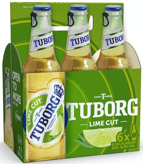Tuborg Tuborg Lime Cut 6 x 0,33l, 1,98 l
