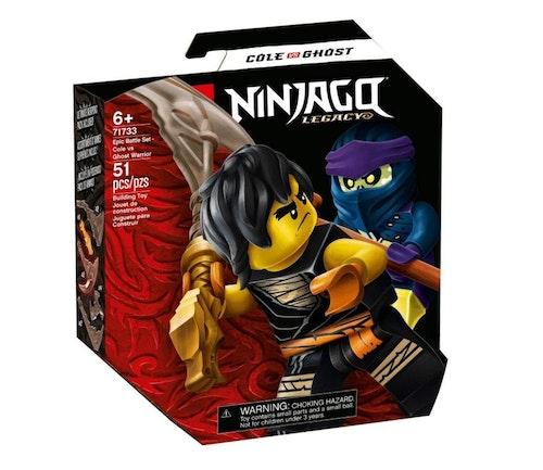 LEGO LEGO Ninjago Cole mot gjenferdkriger 1 stk