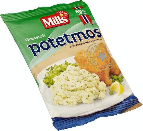 Mills Potetmos Med Gressløk 90 g