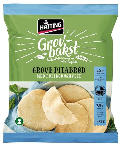 Hatting Grove Pitabrød 400 g