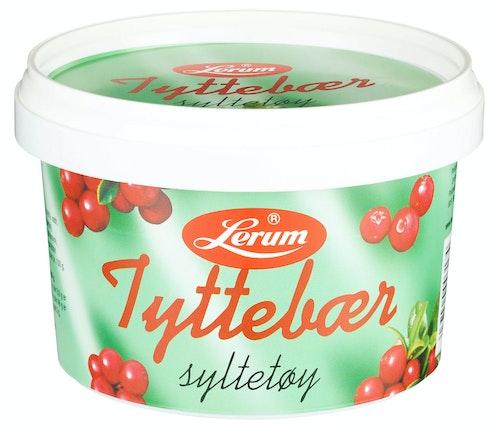 Lerum Tyttebærsyltetøy 600 g