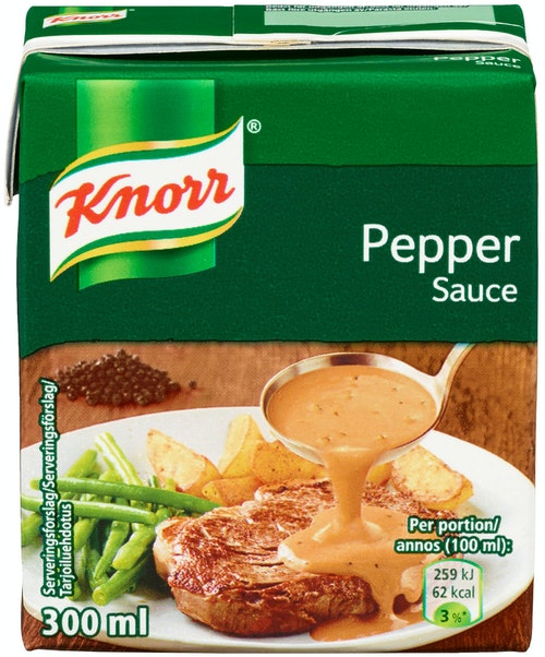 Knorr Pepper Ferdigsaus 300 ml