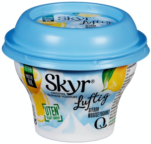 Q-meieriene Skyr Luftig Sitron 130 g