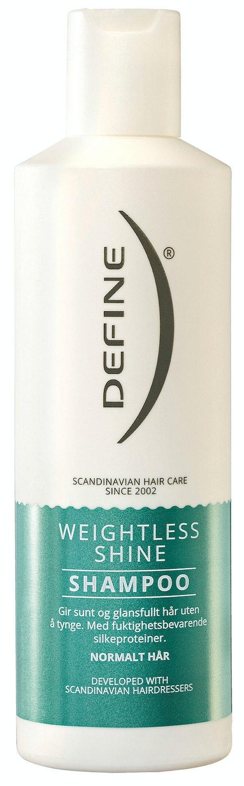 Define Shampoo Weightless shine, 250 ml