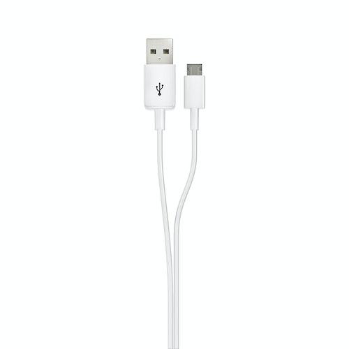EXIBEL Synkkabel Micro-USB Hvit, 1 stk