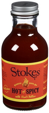 Stokes Hot and Spicy BBQ Sauce 315 g