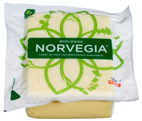 Tine Norvegia 27%  Økologisk, 500 g